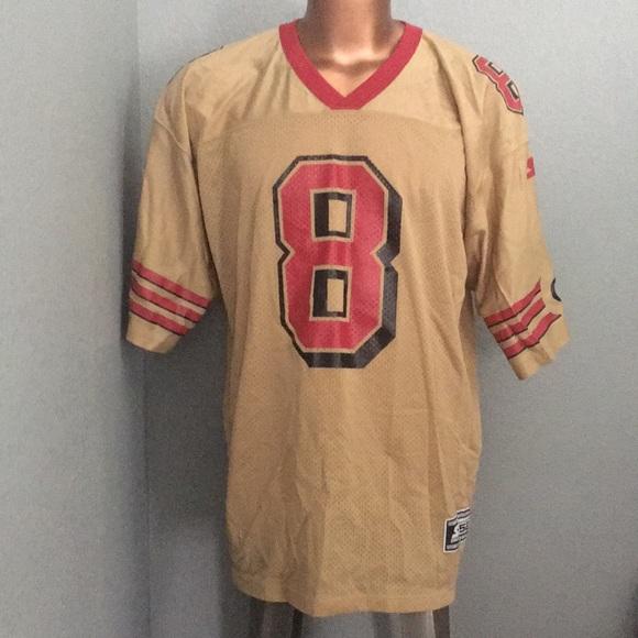f6d308fce Steve Young Vintage Starter Gold Jersey 49ers. M_5b450c143e0caa920d09574b
